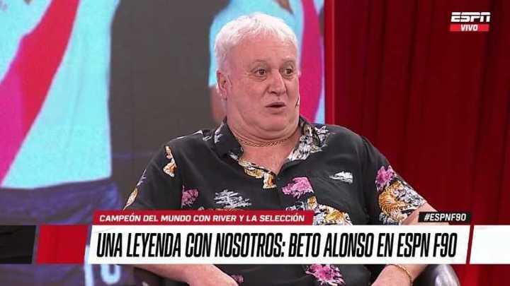 Beto Alonso cantó como Sandro