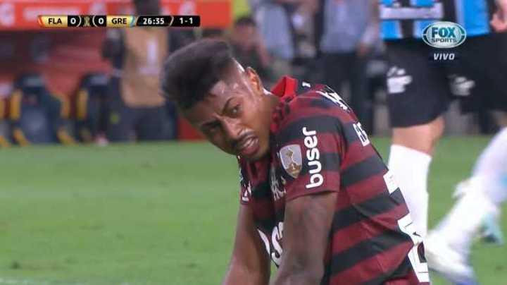 Bruno Henrique lo tuvo para Flamengo