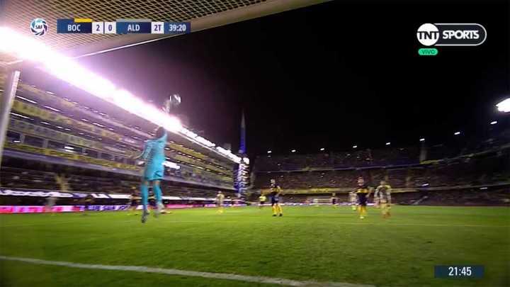 Andrada evitó el gol de Solís