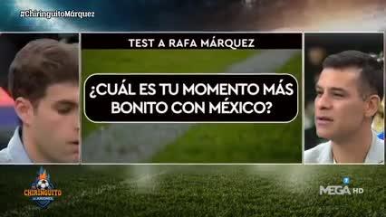 Rafa Márquez y un ping pong que dio que hablar