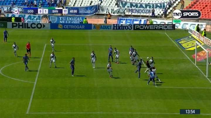 El penal que no le cobraron a Godoy Cruz