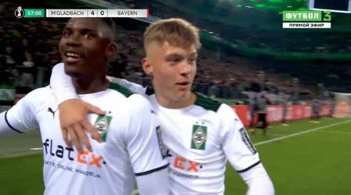 La derrota de Bayern Munich por 5-0 ante el Monchengladbach