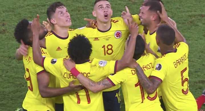 Cardona puso arriba a Colombia ante Ecuador
