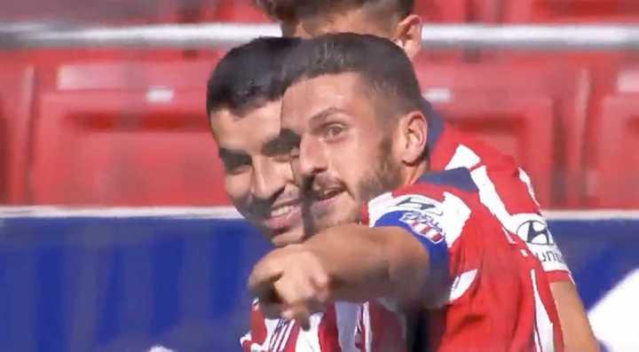 El Aleti goleó al Eibar con dos tantos de Correa