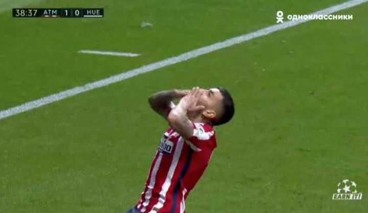 Los goles de At. Madrid 2 - Huesca 0