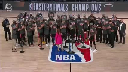 La consagración de Miami Heat como campeón de la Conferencia Este
