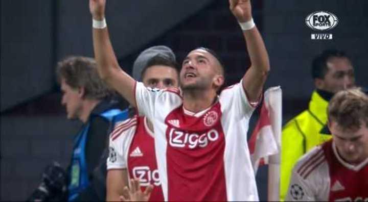 Ziyech lo empató para el Ajax