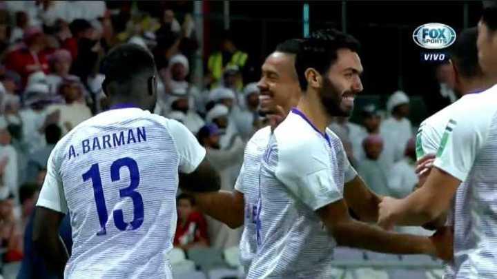 El Al - Ain sorprendió a River y marcó el primero en contra