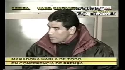 El video viral de Maradona