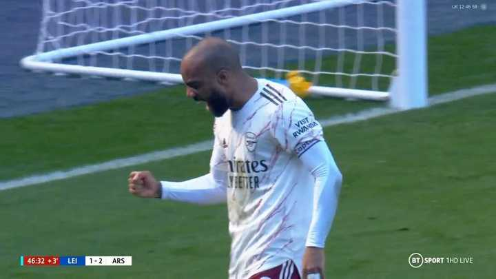 El resumen de la victoria de Arsenal ante Leicester