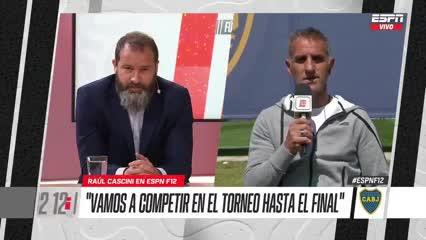 Cascini y las chances de que Boca sea campeón