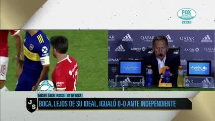 """""""El empate nos dejó sin margen de  error"""""""