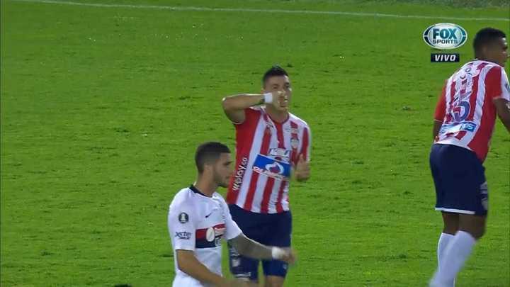 Rangel abrió el marcador de cabeza