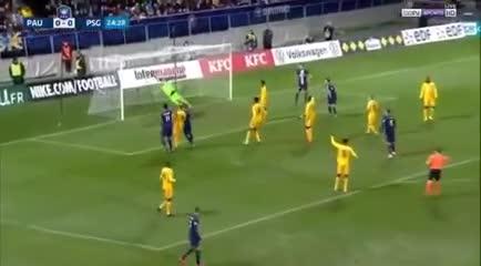 El gol de Leandro Paredes en la Copa de Francia