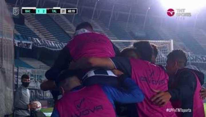 Enzo Díaz marcó el 2 a 1