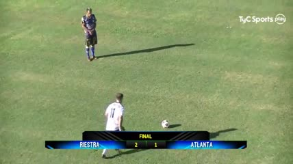 Los goles del Riestra 2 - Altanta 1