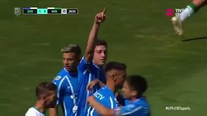 Abrego marcó el 1 a 0