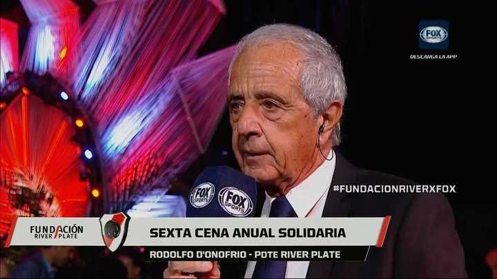 """Rodolfo D'Onofrio: """"Me equivoqué al hablar del planteo táctico y pido disculpas"""""""
