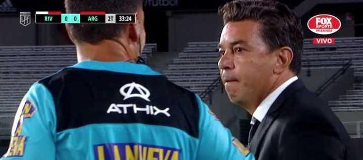 """Gallardo: """"Sos muy mentiroso"""""""