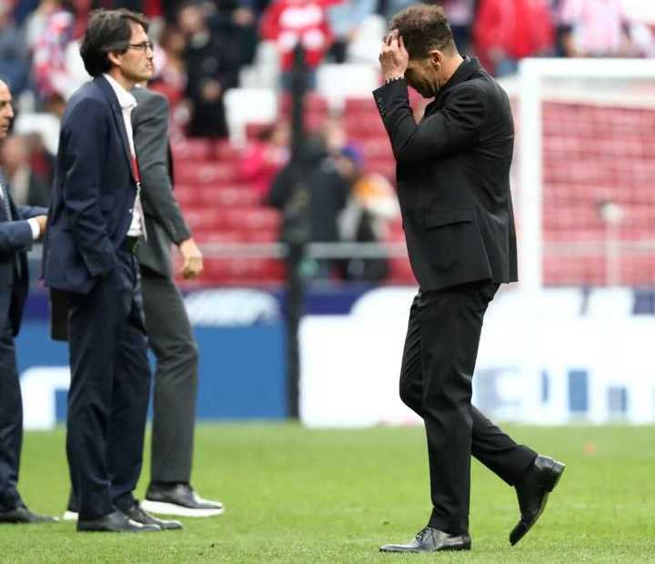 Tercer empate al hilo del Atlético de Simeone