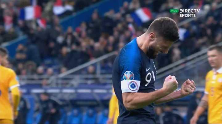 Los goles de la victoria de Francia