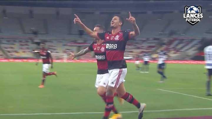 La victoria del Flamengo por 3 a 1