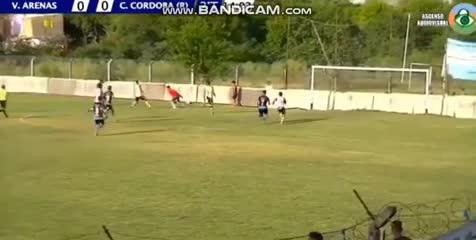 El 1-0 de Victoriano Arenas a Central Córdoba
