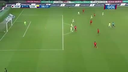 Así fue el 2-1 de los coreanos