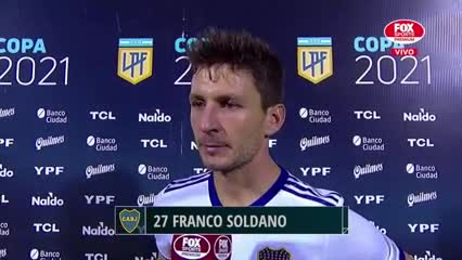 "Soldano: ""Horrible, no podemos dar esta imagen"""