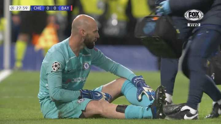 El golpe de Willy Caballero