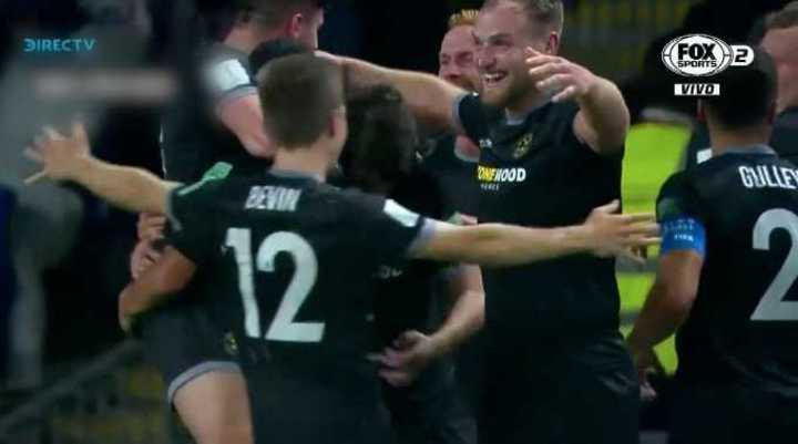 Wellington marcó el tercero
