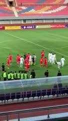 La gresca entre jugadores de Corea del Sur y del Norte