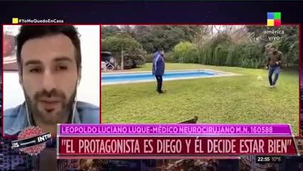 """""""Diego pasaba días sin dormir"""""""