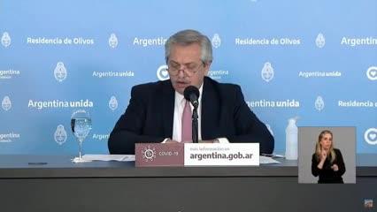 """Alberto Fernández: """"Vamos a seguir manteniendo el aislamiento"""""""