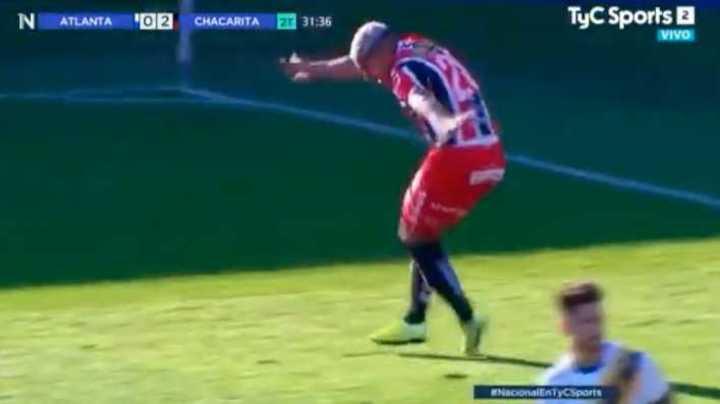Chacarita goleó 3-0 a Atlanta