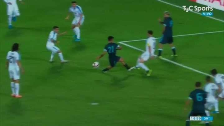 El gol anulado a Dybala