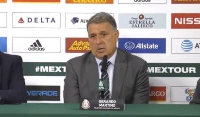 Martino sobre la ausencia de Messi en el amistoso ante México
