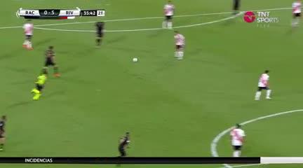 Suárez puso el 5 a 0