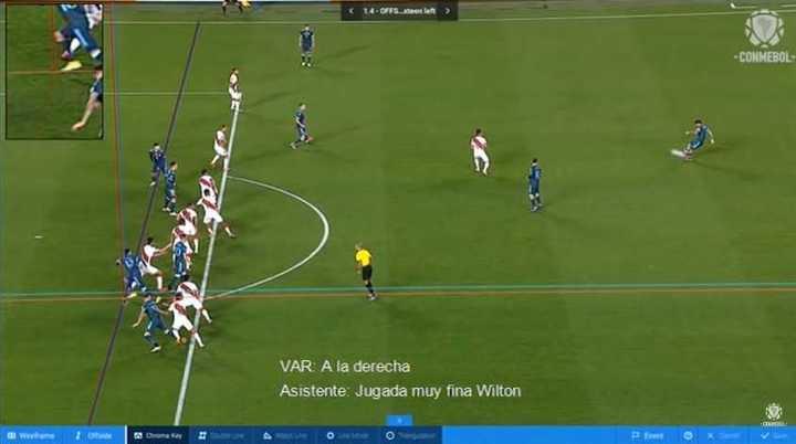 Los audios del VAR en el gol anulado a Cuti Romero