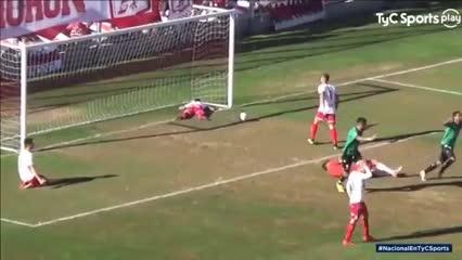 Los goles de Morón 1 - San Martín (SJ) 1