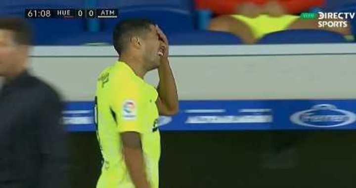 Suárez se fue reemplazado