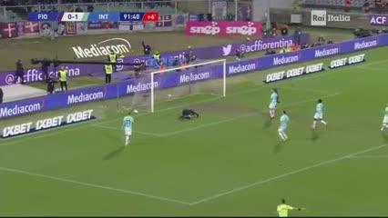 El gol de Fiorentina