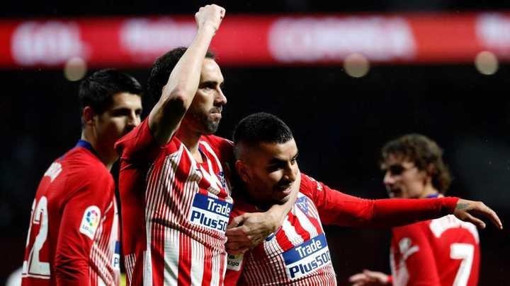 El equipo del Cholo ganó 3 a 2 con gol de Ángel Correa