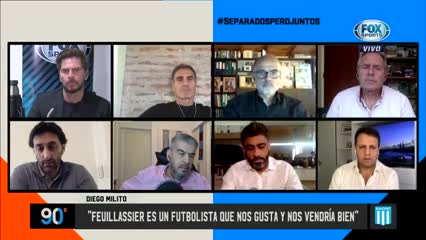 El mercado de pases de Racing