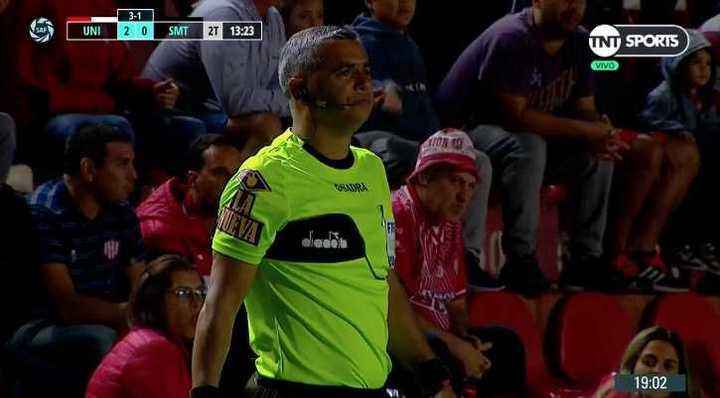 El gol mal anulado a San Martín