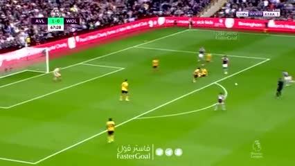 Mc Ginn y el 2-0 de Aston Villa sobre Wolverhampton