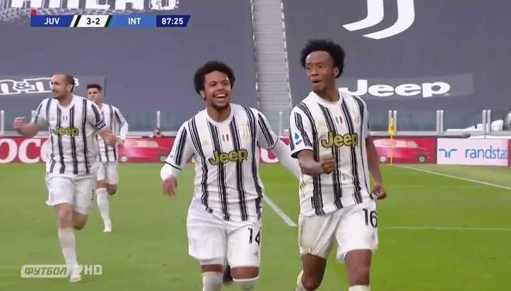 Cuadrado le dio el triunfo a Juve