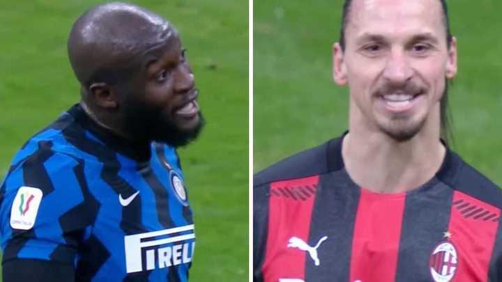 Mirá lo que se dijeron Ibrahimovic y Lukaku
