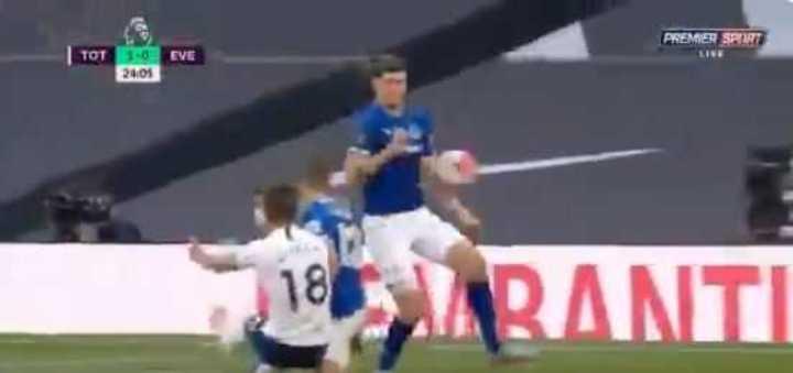 El 1-0 del Tottenham al Everton