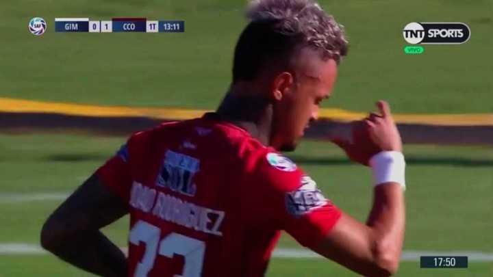 Central Córdoba se puso en ventaja con gol de Rodríguez